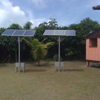 Sistema FV Isolado / Isolated PV System